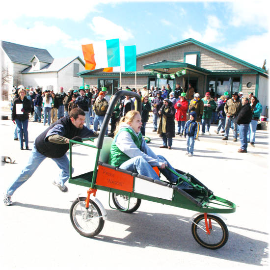 St Patrick's Day on Beaver Island
