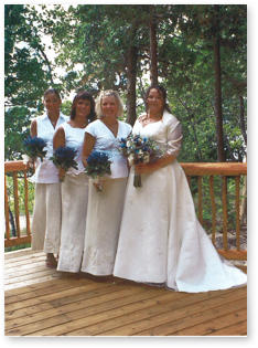 Beaver Island Bridal Party