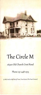 The Circle M Menu