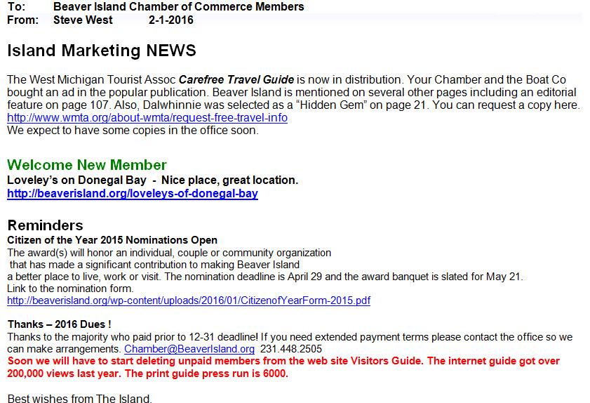 BI Chamber News 2-1-16